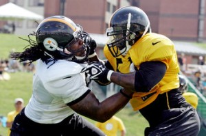 Pittsburgh Steelers training camp starts July 26 through August 18