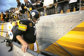 Big Ben turns in one of his worst performances of the 2014 season against the Saints